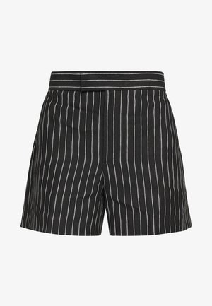 SHORT - Shorts - black/cream