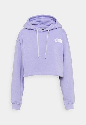 TREND CROP DROP HOODIE - Sweatshirt - sweet lavender