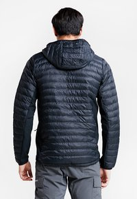Columbia - POWDER PASS™ HOODED JACKET - Outdoor jacket - black - 2