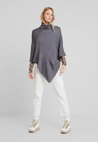 Anna Field - Kapper - mottled dark grey - 1