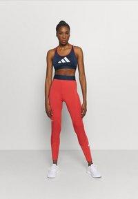 adidas Performance - ADILIFE - Collants - crew red/black/white - 1