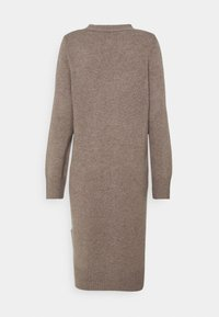 pure cashmere - LONG CARDIGAN - Gilet - taupe - 1