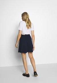 Esprit - SKIRT - A-line skirt - navy - 2