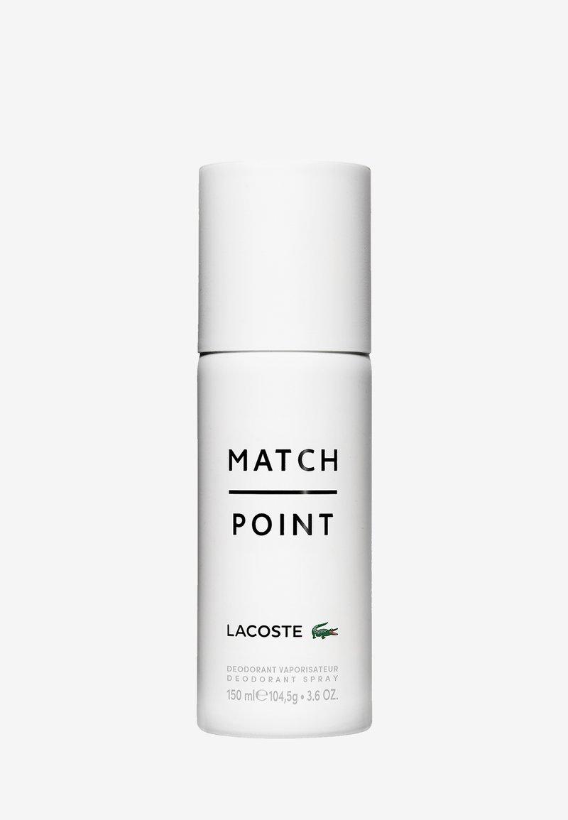 Lacoste Fragrances - LACOSTE MATCHPOINT DEOSPRAY - Dezodorant - -