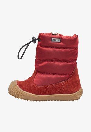 NATURINO - Winter boots - rot