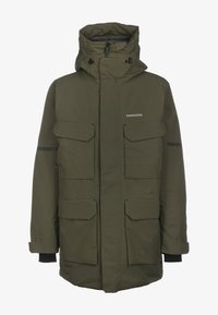 Winter coat - fog green
