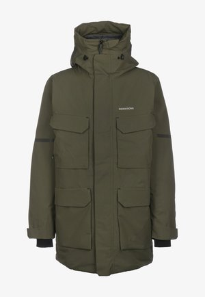 Winter coat - fog green