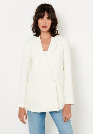 Manteau court - blanc cassé