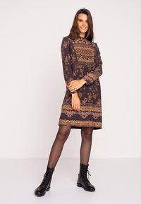 Ivko - Day dress - brown red - 1