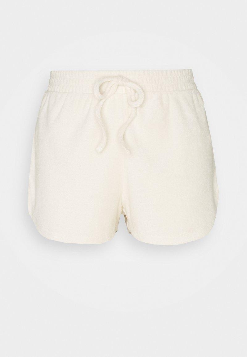 Pieces - PCDUNJA TERRY LOUNGE - Shorts - ecru