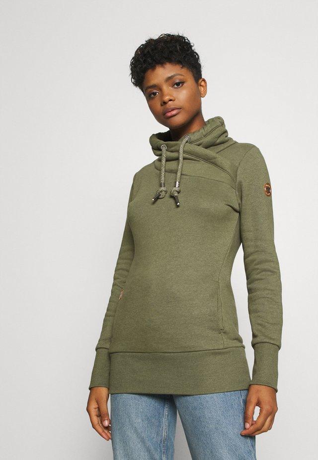 NESKA - Sweater - olive
