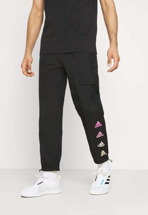 FAVS  - Tracksuit bottoms - black