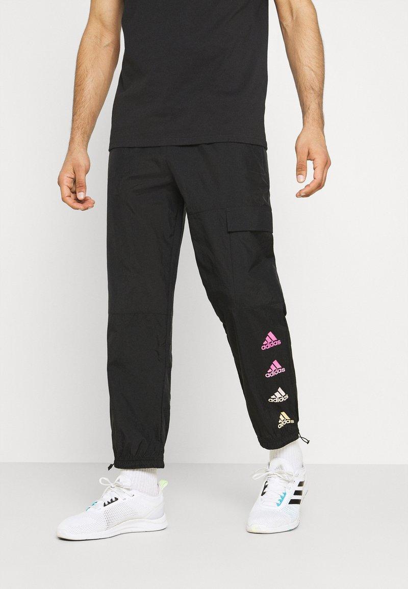 adidas Performance - FAVS  - Träningsbyxor - black