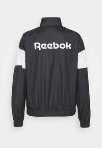 Reebok - LINEAR LOGO JACKET - Training jacket - black - 6