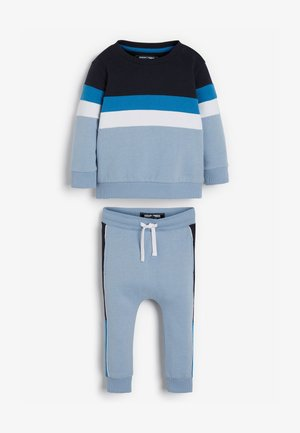 SET - Tracksuit bottoms - blue