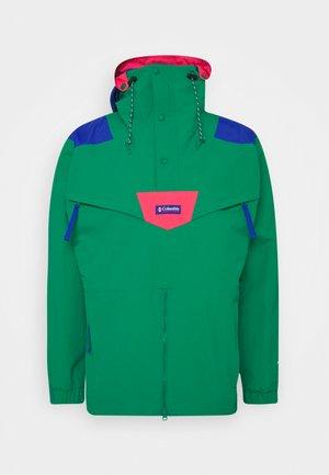 MONASHEE ANORAK - Hardshell jacket - emerald green/lapis blue