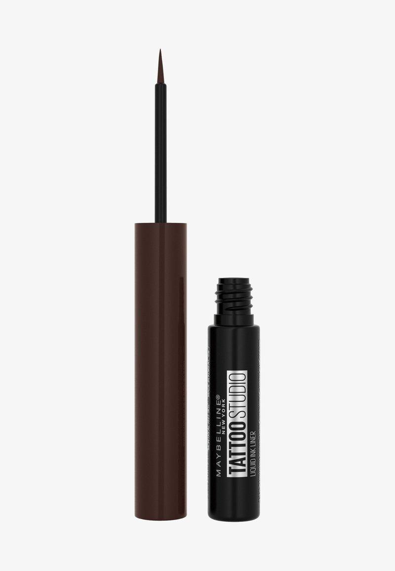 Maybelline New York - TATTOO LINER LIQUID INK - Eyeliner - dark henna