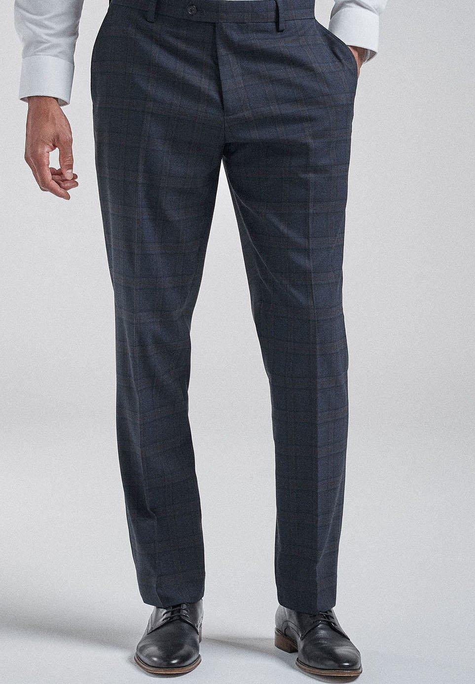 Hombre CHECK SUIT: TROUSERS-REGULAR FIT - Pantalón de traje
