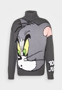 GCDS - TOM SWEATER - Jumper - grey - 5