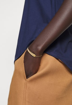 PAVE SLIDER BRACELET - Armband - gold-coloured
