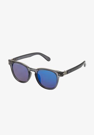 SUNGLASSES ITALY WITH CHAIN - Solbriller - grey/silver