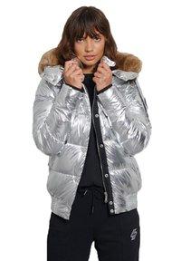 Superdry - Winter jacket - silver metallic - 0