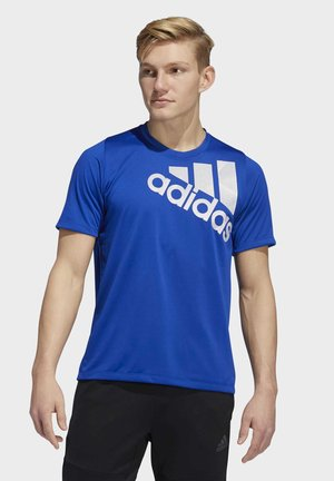 TOKYO BADGE OF SPORT T-SHIRT - Camiseta estampada - blue