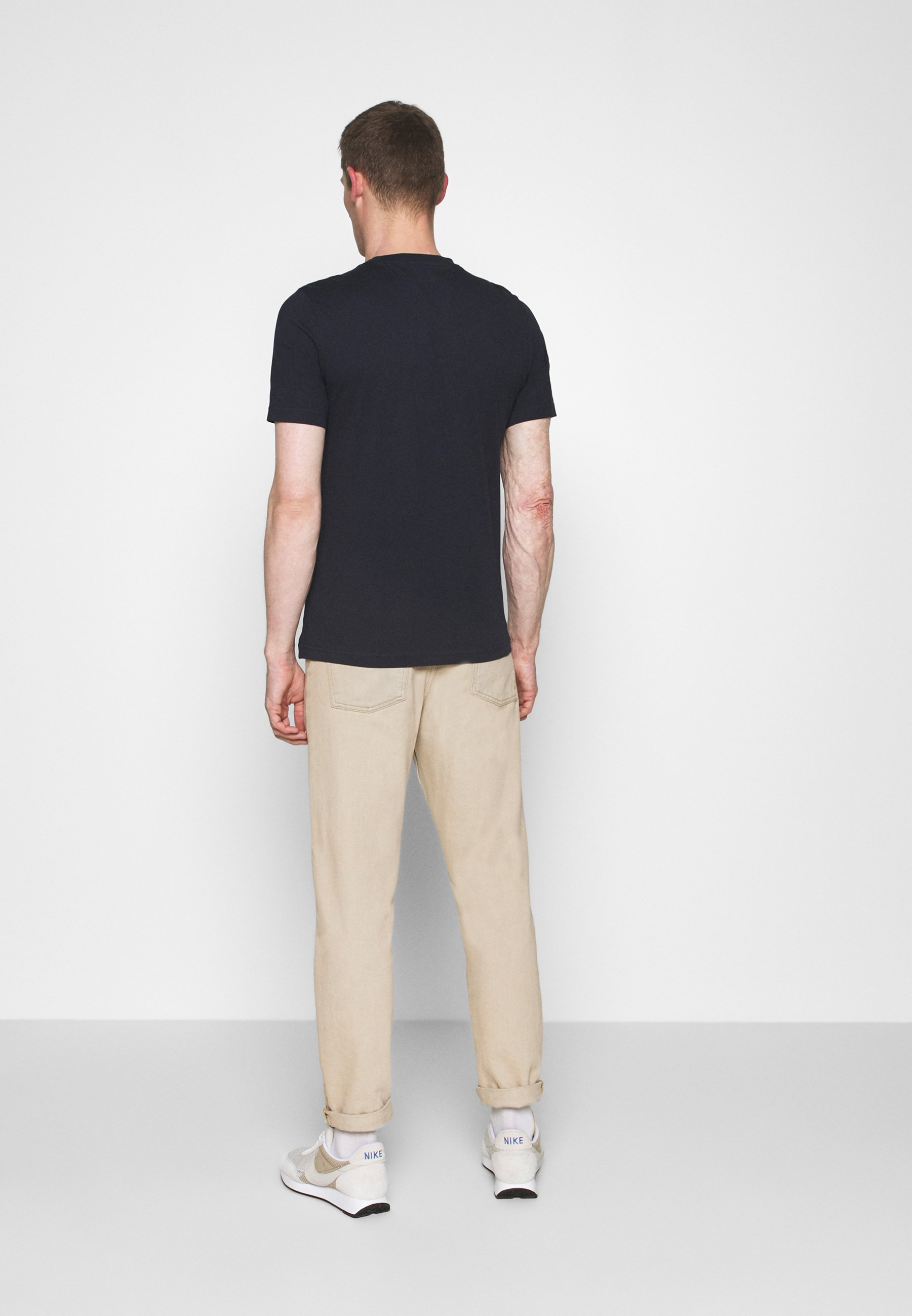 Mustang ANTON CREW - Print T-shirt - dark blue qbJle