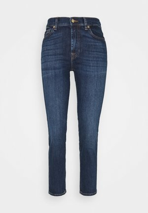 THE STRAIGHT CROP SOHO DARK - Straight leg jeans - dark blue