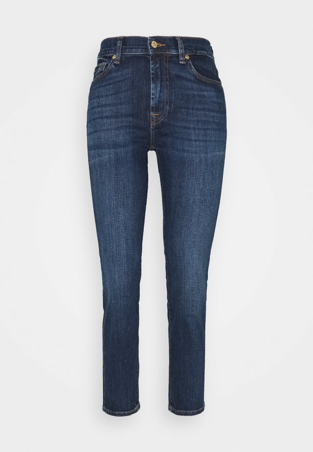 THE STRAIGHT CROP SOHO DARK - Straight leg -farkut - dark blue