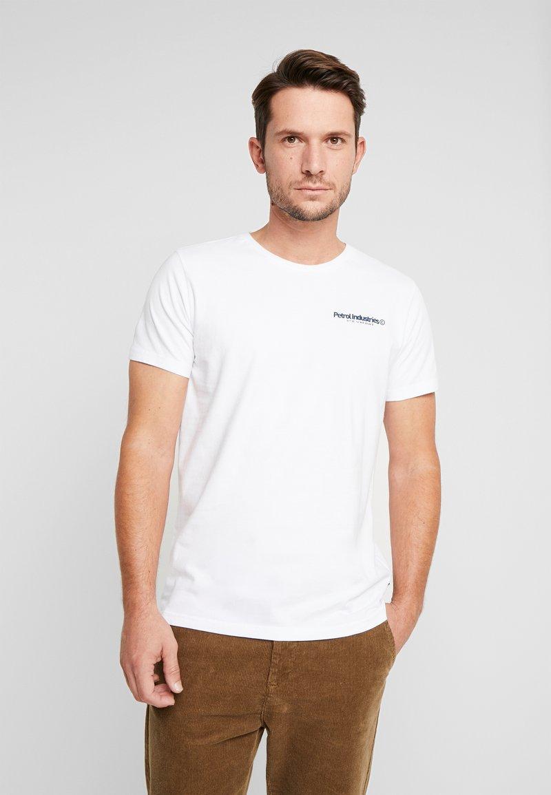 Petrol Industries - Camiseta estampada - bright white