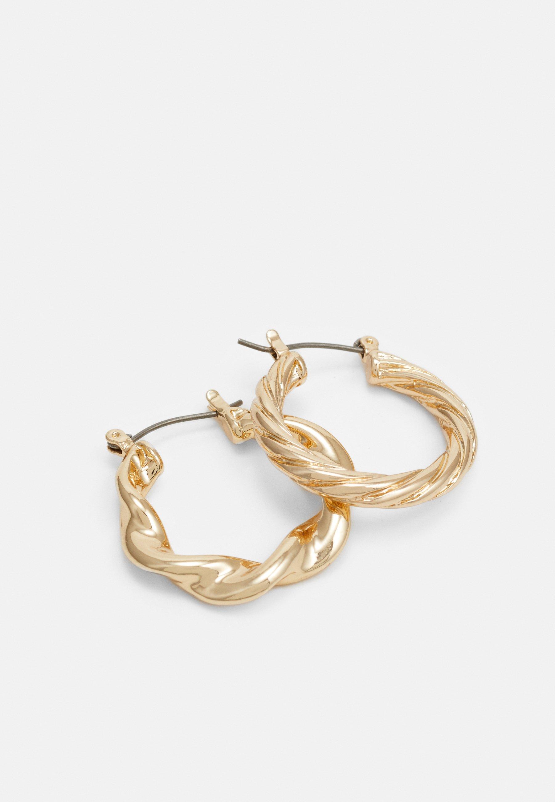 LIARS & LOVERS TWIST HOOP 3 PACK - Øredobber - gold-coloured/gull Umz5FCt8emWkFlH