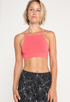 SADHU - Light support sports bra - coral
