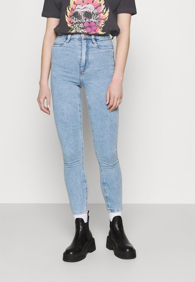 ULTRA HIGH SUPER STRETCH - Jeans Skinny Fit - lennox blue