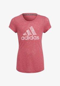 adidas Performance - Camiseta estampada - pink - 0