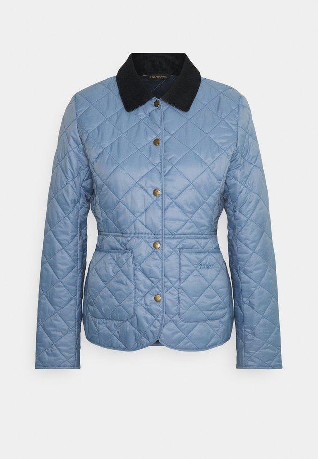 DEVERON QUILT - Light jacket - blue mist/navy
