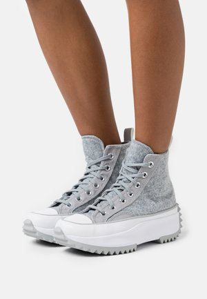 RUN STAR HIKE - High-top trainers - ash stone/silver/white