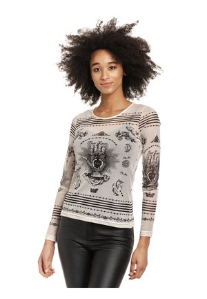 MYSTIC  - Long sleeved top - offwhite