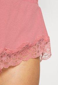 Hunkemöller - x NA-KD SHORT MIA - Pantaloni del pigiama - dusty pink - 4