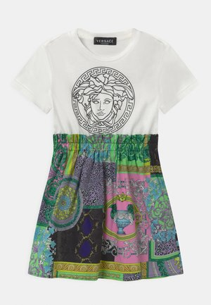 UNITED HERITAGE PRINT MEDUSA - Jersey dress - white/black/pink/multicolor