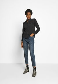 Vero Moda - VMMARIA SLIM  - Button-down blouse - black - 1