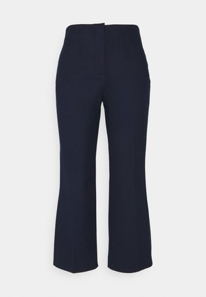 SLFLINA WIDE ANKLE PANT - Broek - sky captain