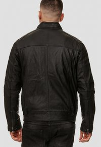 INDICODE JEANS - GERMO - Leather jacket - black - 2