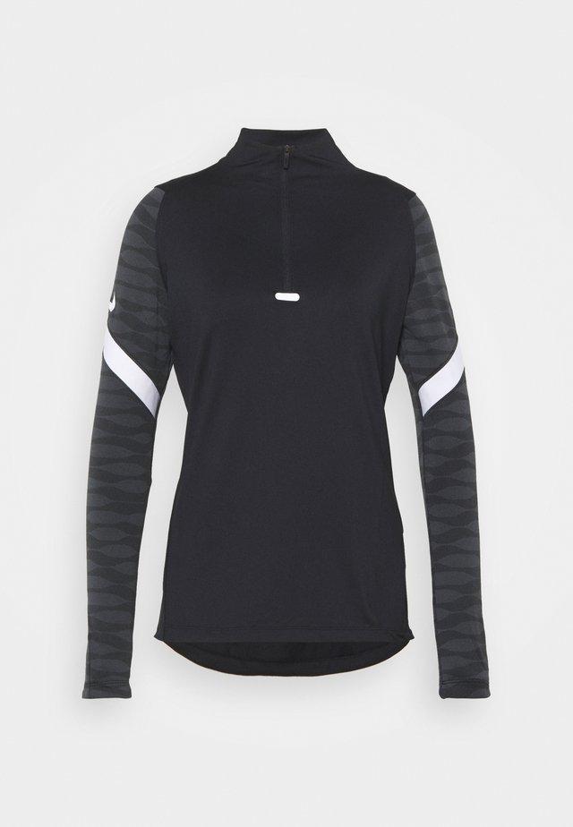 Sports shirt - black/anthracite/white