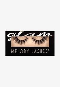 Melody Lashes - GLAM VIOLETTE - Ciglia finte - black - 0