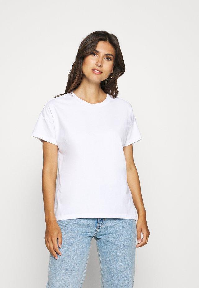 CRISPY TEE - T-shirt basic - white