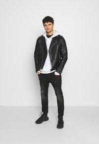 Kings Will Dream - SPACE - Slim fit jeans - black - 1