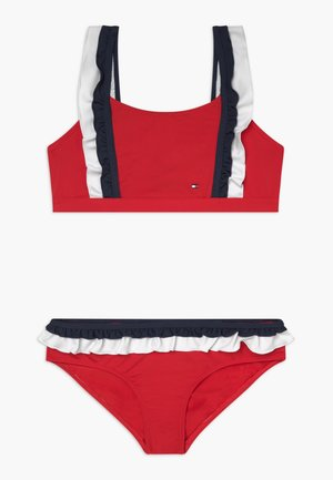 BRALETTE SET - Bikini - red