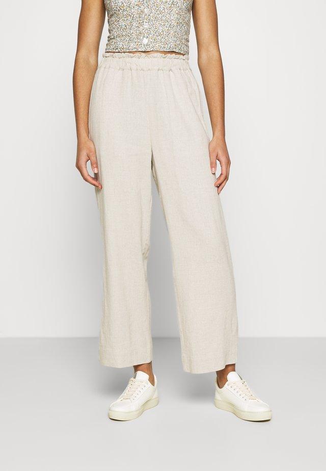 PULL ON - Pantalon classique - flax