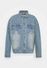 Jaded London - PULLED JACKET - Denim jacket - light blue - 0